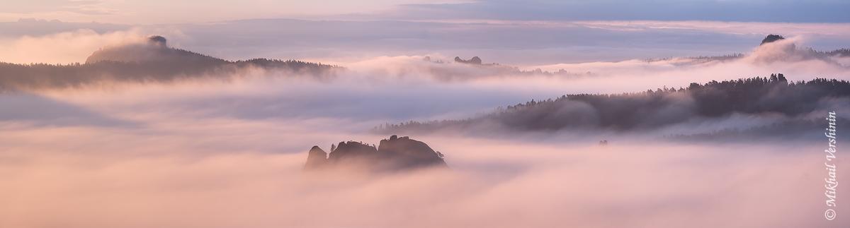 Панорама Диких столбов