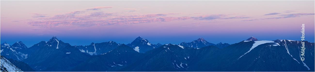 Панорама с перевала Каратюрек