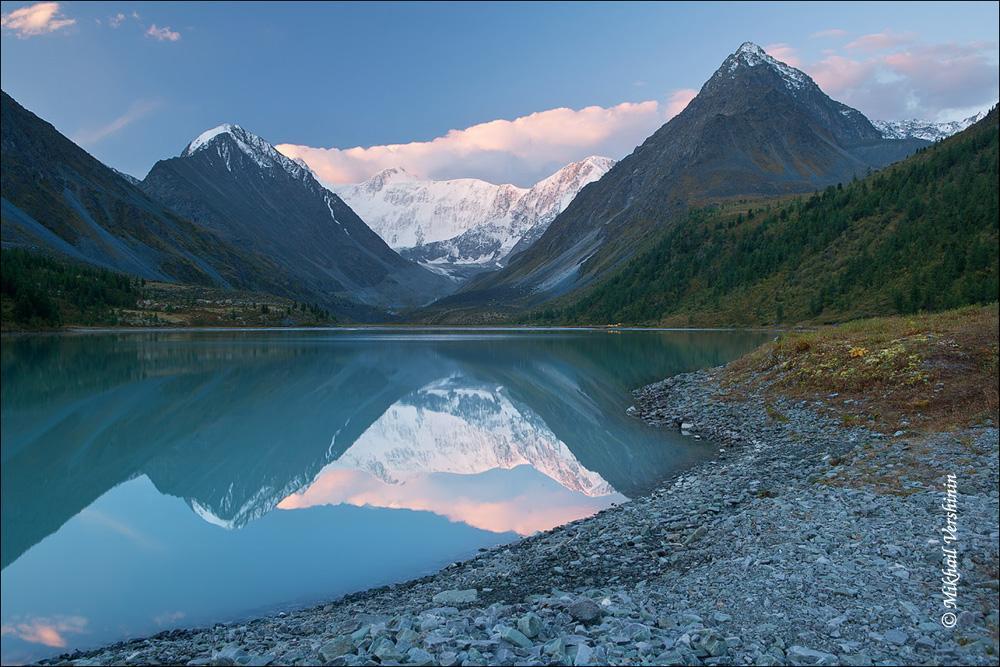 Акемское озеро. Белуха. Алтай